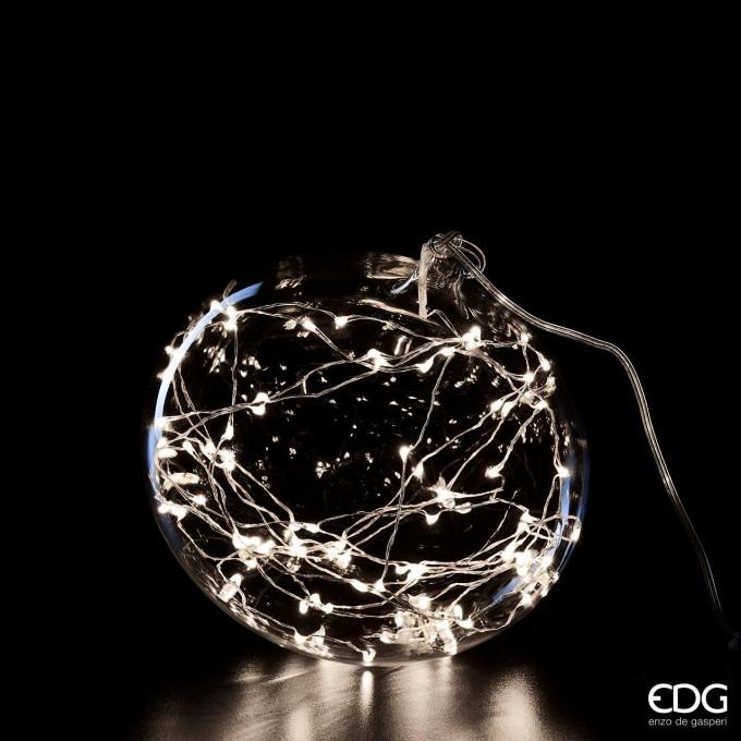 Koule svítící čirá, 60 LED -50%