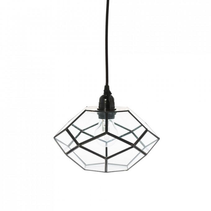 Lampa závěsná Felix - černá 25cm -30%