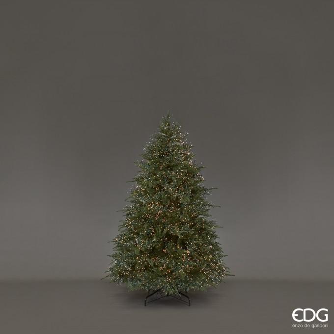 Strom svitící vánoční borovice 180cm