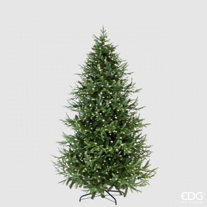 Strom svítící vánoční borovice 210cm