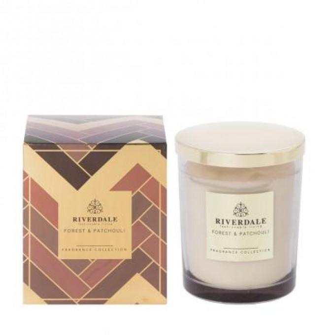 Svíčka - parfém v čirém skle