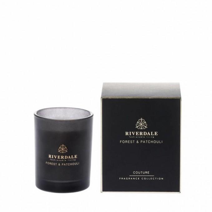 Svíčka - parfém ve skle černá