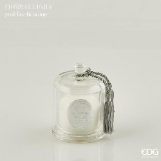 Svíčka se skleněným víkem malá -30%