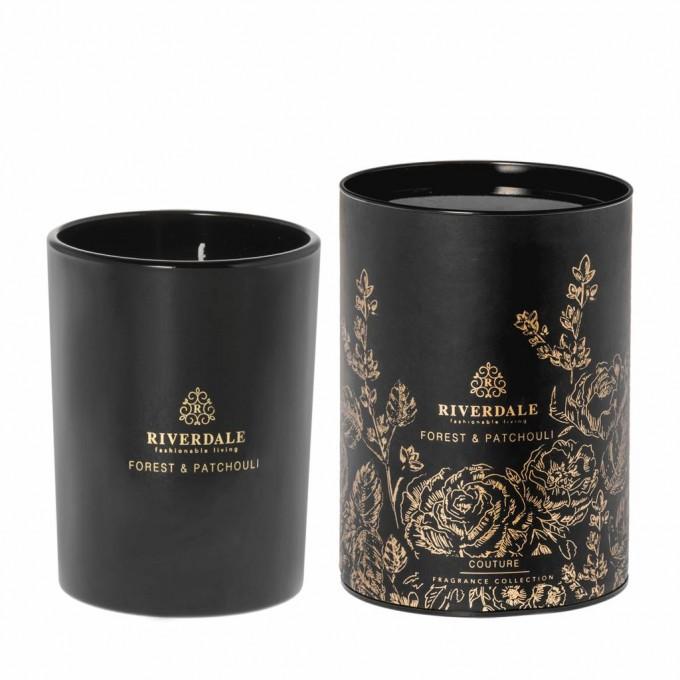 Svíčka vonná Couture - černá 15 cm