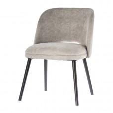 Židle jídelní Leeds - šedá 79cm