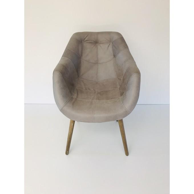 Židle kožená La casa di Ceasar -50%